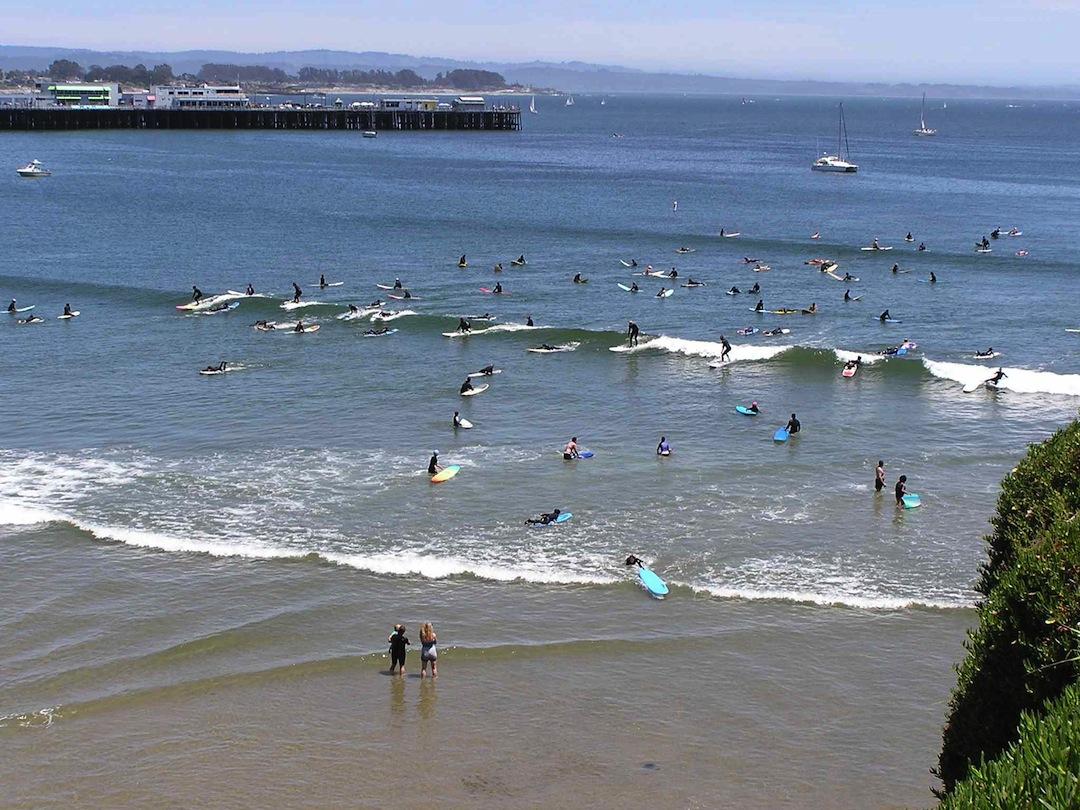 Cowell Beach Santa Cruz Ca