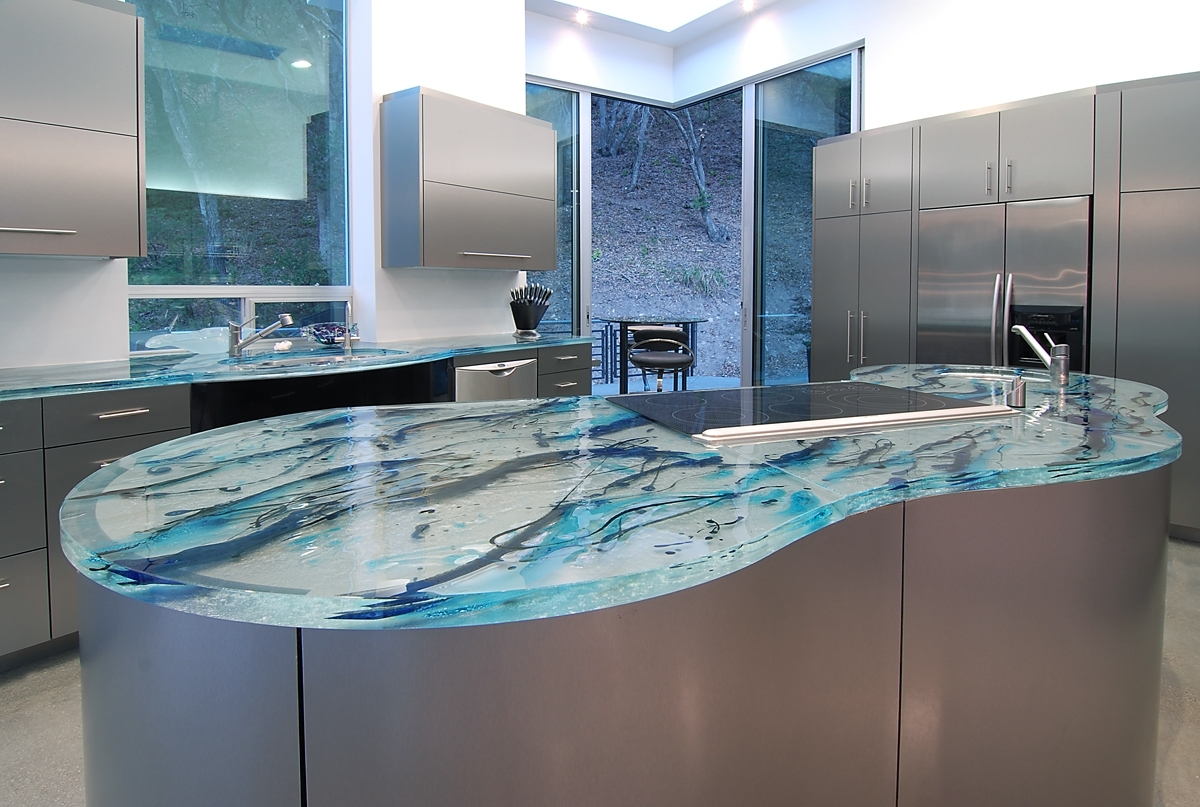 Recycled Countertops - COASTAL HOME & GARDEN